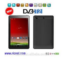 2014 New Popular dvb-t mpeg4 tablet pc/ DVB-T2 mid dual core