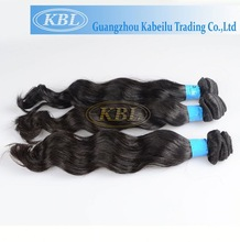 Hand-tied noble gold synthetic hair