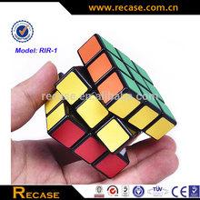 Magic puzzle speed professional cube 4X4X4 white edge World Record Race