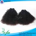 nuevos productos 6a virgen sin procesar al por mayor afro con textura del pelo extensiones
