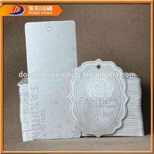 Design Hang Tags,Ivory Board Hang Tag,Embroideried Hang Tags
