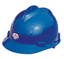 V-guard HDPE/ABS shell helmet, CE EN397/ANSI & cheap Safety Helmet/hard caps manufacturer for mining/construction