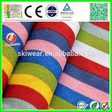 popular stretch spandex stripe fabric blue and white