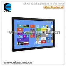 55 inch EKAA LCD thin designed all in one barebone PC mini desktop computer build with 3DTV