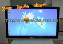 65inch EKAA LCD thin designed all in one barebone PC mini desktop computer build with 3DTV