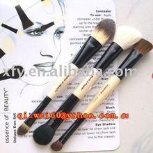 New 6pc Duo Deluxe V Make up Brush set CS-3-01