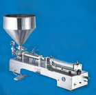25-250ml Stainless steel filling machine, liquid/ juice/ liquid drug irritates installation