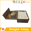 Top quality retail hot sale paper folding wine box