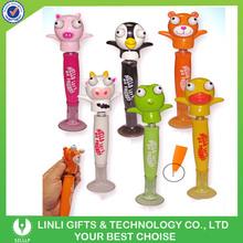 Linli Customized Logo Animal Eye Pop Out Pens