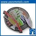 promo hecho insignias de metal para la decoración