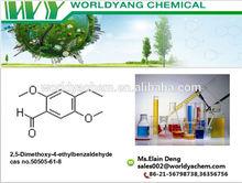 Worldyang Brand 2,5-Dimethoxy-4-ethylbenzaldehyde cas no.50505-61-8