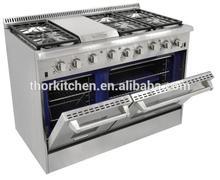 Luxary Freestanding Nature Gas Indoor Range --16500BTU Infrared Broiler