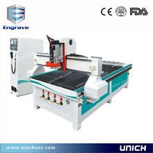 Unich Good Quality 1300x2500mm 3D CNC router Automatic Tool Change cnc router mist cooling system