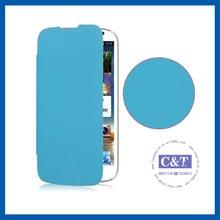 C&T Pu design hard back flip case for huawei ascend y320