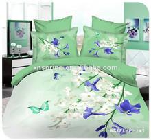 elegant and graceful 3d printed bedding set