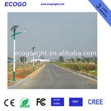 100W cree chip LED street lights photovoltaic 12v solar street light led waterproof