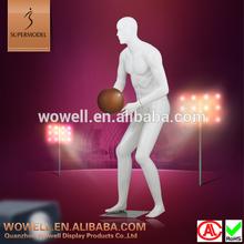 Lifelike design realistic male basketball model
