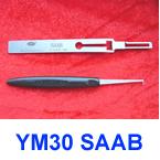 the cheapest LISHI SAAB YM30 lock pick tools 50 % free shipping