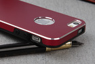 2014 New cell phone high quality super cool business style metal aluminum back cover case for iphone5