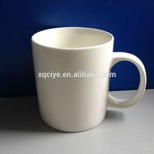 11oz white ceramic mug wholesales red enamel coffee mug
