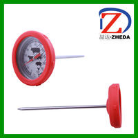BBQ bimetal cooking instant read food thermometer