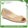 Tan Women's Low Heel Wedge Shoes