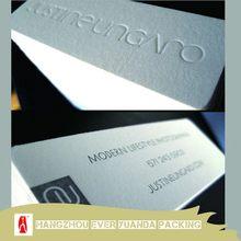 Antique high-end silk -screen business card