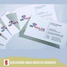 Hot selling updated matt lamination pet business card