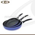 Alumínio não- stick fry pan omelete/lançando pan/frigideira pan