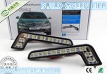 Super bright COB DRL Car LED Daytime Running Light