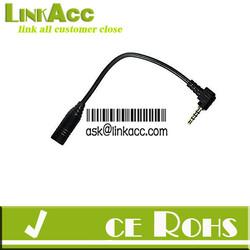 Linkacc3s 2.5mm M Plug to 3.5mm F Jack Headphone Earphone Audio cable