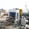 fully automatic concrete brick making line qt6-15,machine de fabrication de parpaings automatique