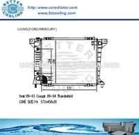 Auto Radiator For FORD THUNDERBIRD 89-94/MERCURY COUGAR 89-93 3.8L V6/5.0L V8 AT OEM:E9SH8005CA E9SHAC E9SZ8005A E9SZ8005B