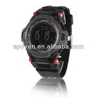2014 new design hot sale fashion sport portable digital multifunctional wrist watch