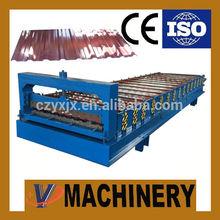 YX 1072 Uz Aluminium Roof Sheet Crimping Machine