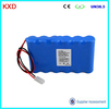 KXD cheaper price 18650 12v 5200mah rechargeable battery for toys