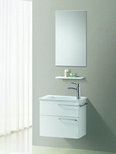 American Commercial Stainless Steel White Hotel Bathroom Furniture (S-1307)