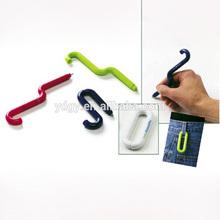 Practical Link Bendable Carabiner Pen