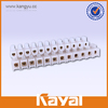 12 Way plastic terminal block connector,types of electric terminal block,6 pin screw terminal block connector
