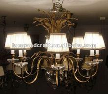 2012 Five Star Hotel multi color crystal chandelier