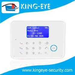 Speed dail phone no. function, touch screen keypad wireless 868mhz burglar alarm system (KI-PG60W)