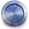 "Relógio de alumínio/metal relógio/quartzo relógio 12"""