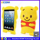 New arrival silicone Winnie case for ipad mini for ipad disney silicone cover case
