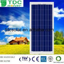 High efficiency poly solar module 130 watt solar panel