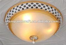 2012 Euro Style Dinning room single polyresin lamp