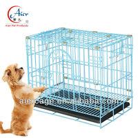 folded metal custom dog cage crate wholesale