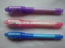 2014 hotselling cheap price uv light secret message pen light
