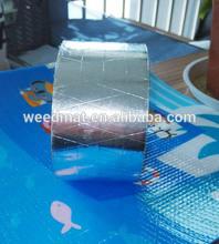 High quality flame retardant heat resistance self adhesive reflcetive fabric tape