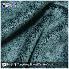 Polyester Embossed Micro Velboa Fabric, Printed Velboa Fabric