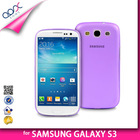 TRANSPARENT BACK COVER FOR SAMSUNG GALAXY S3 i9300 SOFT PP TPU CASE